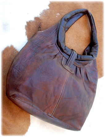 Cocobolo Leather Tote