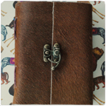 Small Fur buckle Journal