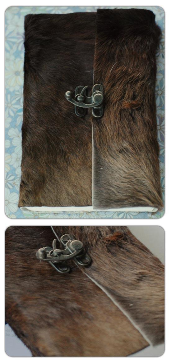 Large long Fur Journal