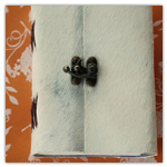 Ivory Fur Small Journal